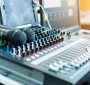 Список звукового оборудования
