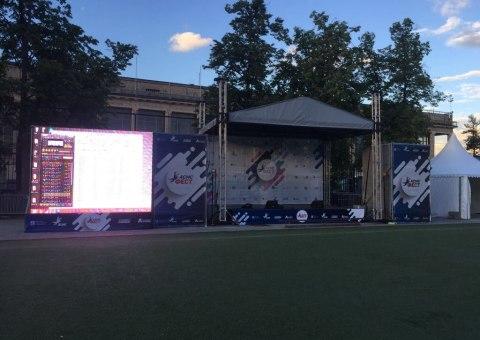 Фестиваль спорта в Лужниках
