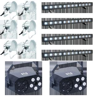 Комплект светового оборудования Большая проекция