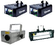 Комплект светового оборудования Дискотека в аренду