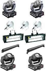 Комплект светового оборудования Профессионал