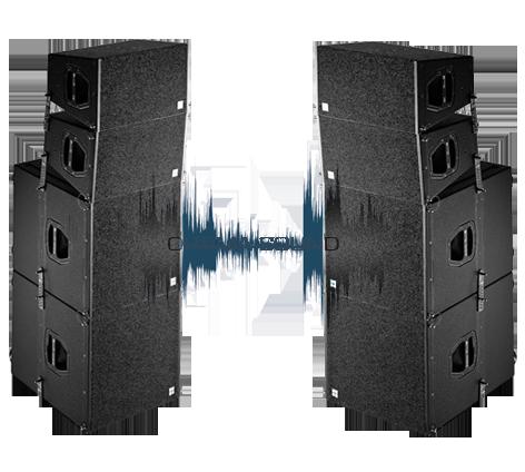 комплект звука 5 кВт D&B Audiotechnik